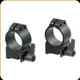 Warne - Maxima Series Quick Detach Steel Rings - Ruger M77 & Hawkeye - 30mm - High - Matte Black - 15R7LM