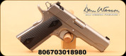 """Dan Wesson - 9mm - Valor Commander Stainless - G10 Grips/Forged Stainless, 4.25"""", MFG# 1870"""