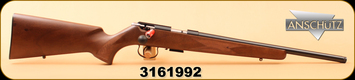 "Anschutz - 17HMR - 1517 D HB G Classic - Walnut/Blued ANSCHÜTZ Precision heavy barrel, 18"", Item # 009965, S/N 3161992"