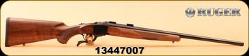 "Ruger - 243Win - 1-V - Varminter - Walnut/Satin Blued, 26"" Barrel, 1:7.7"" Twist, S/N 13447007, MFG# 21300"