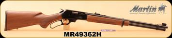 """Marlin - 35Rem - Model 336C35 - Lever Action Carbine - Black Walnut/Blued, 20"""" Micro-Groove barrel, S/N MR49362H"""