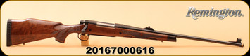 """Remington - 7mmRemMag - Model 700 BDL - 200th Year Anniversary Limited Edition - C-Grade Walnut Stock with Fleur de Lis Checkering/Classic American Style Engraving and Gold Inlay/Blued, 24"""""""
