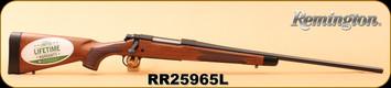 "Remington - 30-06Sprg - Model 700 CDL ""Classic Deluxe"" - Walnut/Matte Blued, 24"" Barrel, X-Mark Pro Trigger, R3 Recoil Pad, S/N RR25965L"
