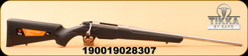 Tikka - 260Rem - T3X Lite Stainless - Blk Synthetic Foam-filled stock/Stainless Steel, 22.4""