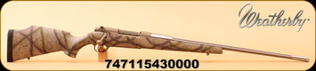 """Weatherby - 340WbyMag - Mark V Terramark - Desert Camo Composite/Stainless, Free-Floated, 26"""" #3 Contour barrel, LXX Trigger"""