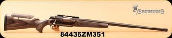 "Consign - Browning - 223Rem - A-Bolt Target Model - Satin Laminate/Matte Blued, 28"" Heavy Bull barrel, c/w EGW SA Picatinny Rail"