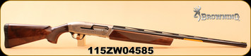 """Consign - Browning - 12Ga/3""""/30"""" - Maxus Sporting - Turkish Walnut/Blued, Missing choke extractor, c/w hard case & accessories - Only 50rds"""