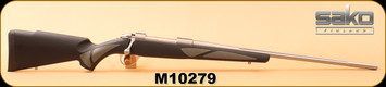 "Used - Sako - 300WinMag - 85L Finnlight - Reinforced black polymer/grey with Soft Touch surface treatment/Stainless, fluted 24"" Barrel - in original box"