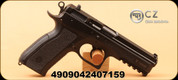 "CZ - 9mm Luger - Model 75 SP-01 Phantom - Semi-Auto - Black Polymer, 4.6"" Cold Hammer Forged Barrel"