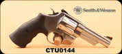 "Consign - Smith & Wesson - 44Mag - Model 629-6 - Revolver - Black Syn/Stainless Steel, 4.25""Barrel, c/w original S&W case"