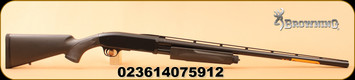 "Browning - 12Ga/3""/28"" - BPS Stalker - Pump Action - Matte Black Composite/Blued, Invector-Plus Flush"