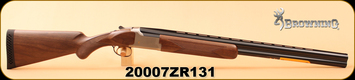 """Browning - 12Ga/3.5""""/28"""" - Citori White Satin Lightning - Limited Edition - Black Walnut/Polished Blued, Invector-Plus Extended, s/n 20007ZR131"""