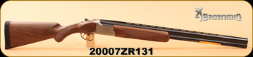 "Browning - 12Ga/3.5""/28"" - Citori White Satin Lightning - Limited Edition - Black Walnut/Polished Blued, Invector-Plus, s/n 20007ZR131"