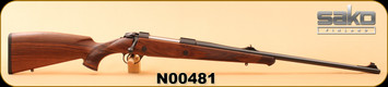 "Sako - 375H&HMag - 85 Bavarian - Walnut/Matte Blued, 24 3/8""Light hunting contour barrel, S/N N00481"