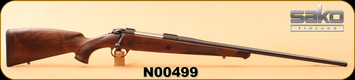 "Sako - 300WinMag - 85 Bavarian - Walnut/Matte Blued, 24 3/8""Light hunting contour barrel, S/N N00499"