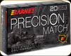 Barnes - 6mm Creedmoor - 112 Gr - Precision Match - OTM Boat Tail - 20ct - 30814