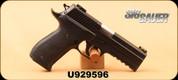 """Consign - Sig Sauer - 9mm - P226 Sport LDC - DA/SA SRT - Black, 4.4""""Barrel, Hi-Viz Fiber Optic front sight, adjustable rear, c/w Case, Conversion Kit & 5 extra magazines"""