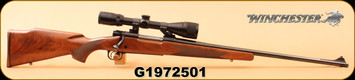 "Used - Winchester - 7MMRemMag - Model 70 XTR - Sporter Magnum - Walnut/Blued, 24""Barrel, c/w Bushnell Banner 4-12x40, Duplex"