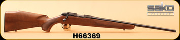 "Sako - 22LR - Finnfire II - P04R Action - Oiled Walnut/Blued, 22""Barrel, S/N H66369"