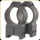 Warne - Maxima Fixed Mount - Steel Rings - 30mm - Extra High - Matte Black - 216M