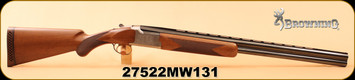 """Consign - Browning - 12Ga/3""""/28"""" - Citori White Lightning - Invector Plus, c/w extra chokes"""
