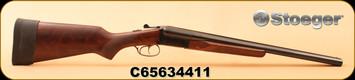 """Consign - Stoeger - 12Ga/3""""/20"""" - E.R Amantino - Coach Gun - SxS - Wd/Blued"""