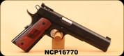 """Consign - Nighthawk - 10mm - Heinie Long Slide 6"""" Custom - black nitride finish, c/w soft case, manual, 2 mags"""