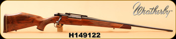 "Consign - Weatherby - 270WM - Mark V Deluxe - AAA Claro Gloss Walnut/Blued, 24""Barrel, Made in Japan"