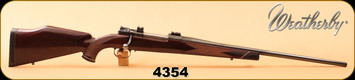 """Consign - Weatherby - 300Mag - Mark V Deluxe - Walnut/Blued, 24""""Barrel, Mauser Action, Jewelled bolt, Chrome Bore"""