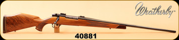 "Consign - Weatherby - 300Mag - Mark V Deluxe - AAA Claro Gloss Walnut/Blued, 26""Barrel, made in Germany"