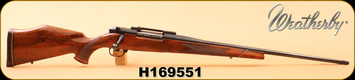 """Consign - Weatherby - 257WM - Mark V Deluxe - AAA Claro Walnut/Blued, 24""""Barrel, made in Japan, magna ported"""