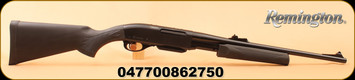 "Remington - 30-06Sprg - Model 7600 Carbine Synthetic - Pump Action - Black Synthetic Non-Monte Carlo Stock/Blued, 18.5""Barrel"