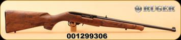 """Ruger - 22LR - 10/22 Eagle - Semi-Auto - Walnut """"American Eagle""""/Satin Black, 18.5"""", MFG# 21199, S/N 001299306"""