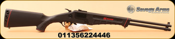"Savage - 22LR/410 - M42 Takedown Compact - Over/Under Break Action Rimfire-shotgun combo - Black Synthetic/Satin Black, 20""Barrel, MFG# 22444"