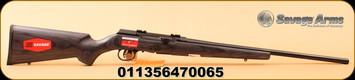 "Savage - 17HMR - A17 Target Sporter Laminate - Semi-Auto - Gray Laminate/High Lustre Black, 22""Barrel, MFG# 47006"