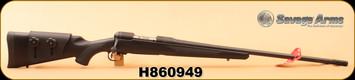 "Consign - Savage - 308Win - Model 11 Long Range Hunter - Bolt Action Rifle - Black AccuStock/Matte Black Finish, 26"" Barrel, 4 Rounds, Adjustable Muzzle Brake, AccuTrigger, Mfg# 18894 - In box"