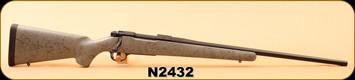 "Consign - Nosler - 300WSM - M48 Patriot - Gray w/black web Lightweight Aramid Fiber Reinforced Composite Stock/Graphite Cerakote, 24""Barrel, Mfg# 36048 - In box"