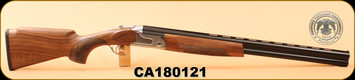"Huglu - 12Ga/3""/26"" - S12E - Wd/Bl/Silver Receiver, M Choke, S/N CA180121 - Small ding on right rear of buttstock"