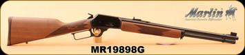 "Marlin - 45Colt - Model 1894 - Lever-Action Rifle, American Black Walnut Stock/Blued 20"" Barrel, S/N MR19898G"