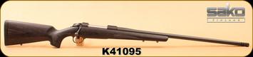 "Consign - Sako - 338LapuaMag - 85XL Long Range - Blk Lam/Blued, 26"" match grade barrel, muzzel brake - Unfired, in original box containing accuracy certificate"
