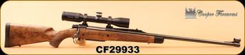 "Consign - Cooper - 300H&H - Model 52 - AAA NZ Walnut stock/Blued, 26""Barrel, c/w Swarovski Z6 1.7-10x42, BT Plex, extra mag, quick detach rings, 3 boxes new Nosler Brass, RCBS FL Dies"