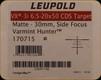 Leupold - VX-3i - 6.5-20x50 - Side Focus CDS Target - Matte - 170715