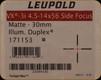 Leupold - VX-3i - 4.5-14x56mm - Side Focus Illuminated Duplex - Matte - 171153