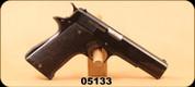 "Used - Star - 9mm - BKS - Wood grips/Blued, 5""Barrel"