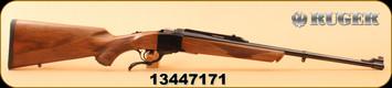"""Ruger - 7mm-08Rem - No.1-A - Light Sporter - Walnut/Blued, 22""""Barrel , Mfg# 11390"""