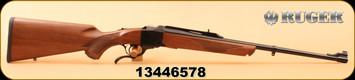 """Ruger - 7mm-08Rem - No.1-A - Light Sporter - Walnut/Blued, 22""""Barrel , Mfg# 11393"""