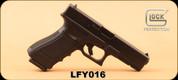 "Consign - Glock - 9mm - Model 17 - Blk, 4.49""Barrel, c/w original hard case, 6 magazines, 2 holsters"