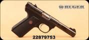 "Consign - Ruger - 22LR - 22/45 MKIII - Blk, 4.5""Barrel, c/w 6 magazines"
