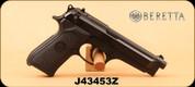"Consign - Beretta - Model 92FS - Black, 4.92""Barrel, c/w original hard case, 6 magazines, 1 holster"