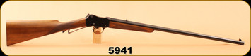 "Consign - Belgium - 38S&W - Martini - Single-Shot - European Walnut w/ hand checkering/Blued, 24"" Barrel, exposed hammer"